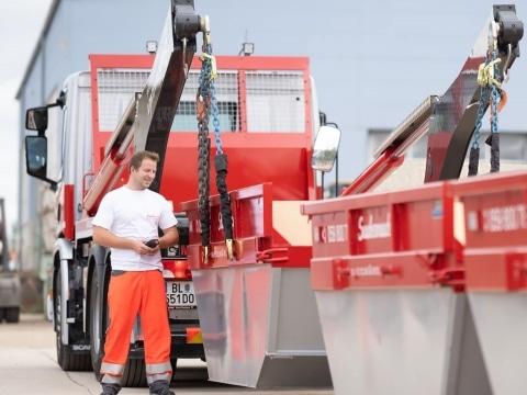 Mulden bei Saubermacher Bau Recycling & Entsorgung im Großraum Wien
