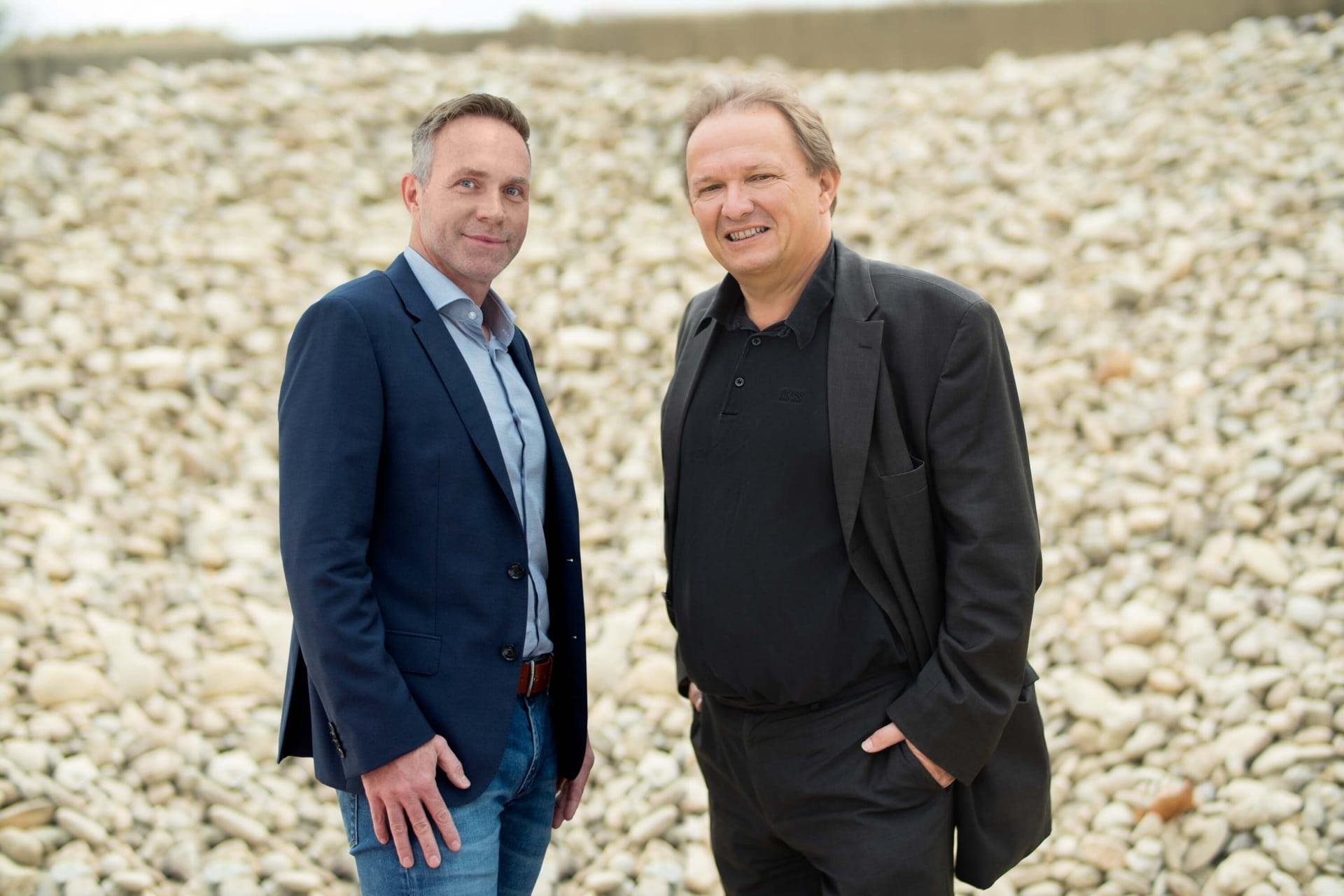 Geschäftsführung Saubermacher Bau Recycling und Entsorgung: Alexander Gruber und Alois Fürnkranz